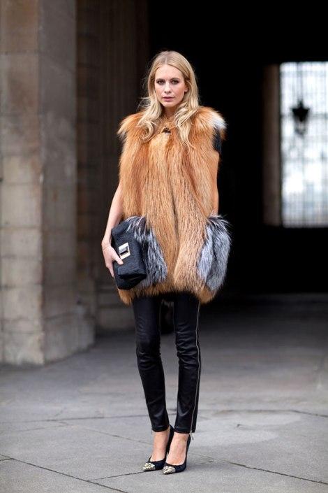 poppy delevingne fur
